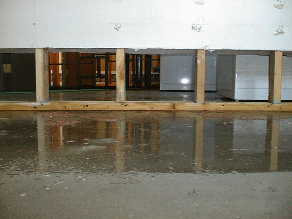 A Flooded Basement in Worcester